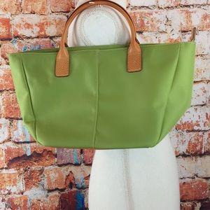 Lands' End green shoulder bag purse